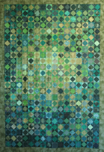 Moderne quilts - Wandbehang modern ...